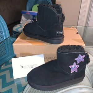 NEW Kids Koolaburra by Ugg BLING boots size 12